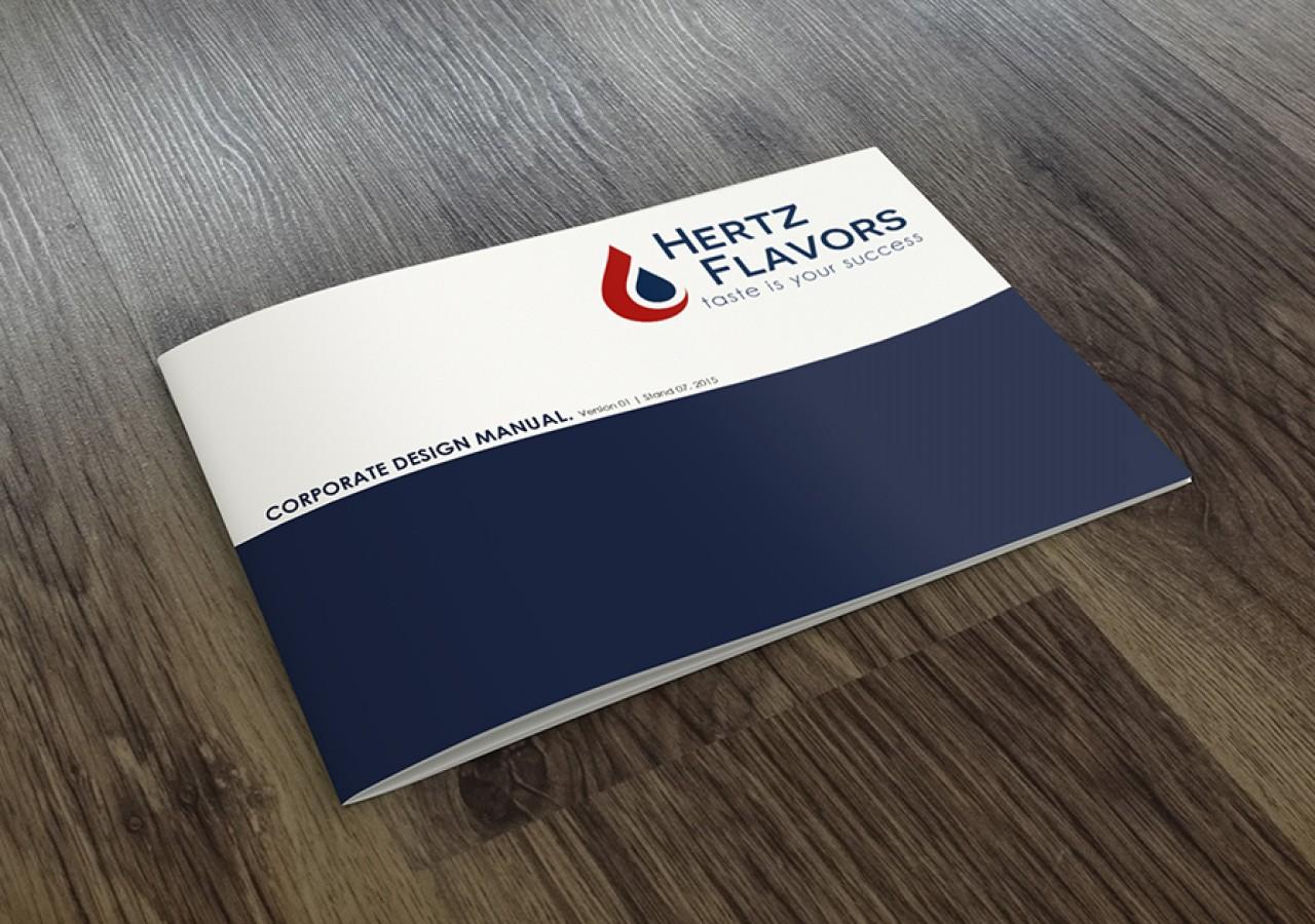 Corporate Design Manual für Hertz Flavors