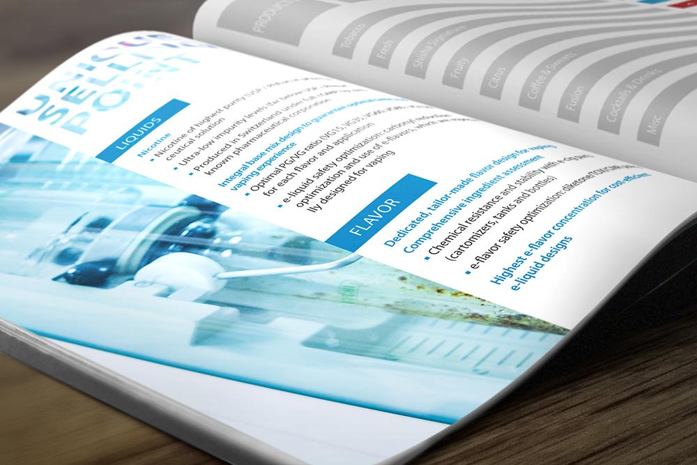 Produktkatalog Gestaltung – Flavoriq