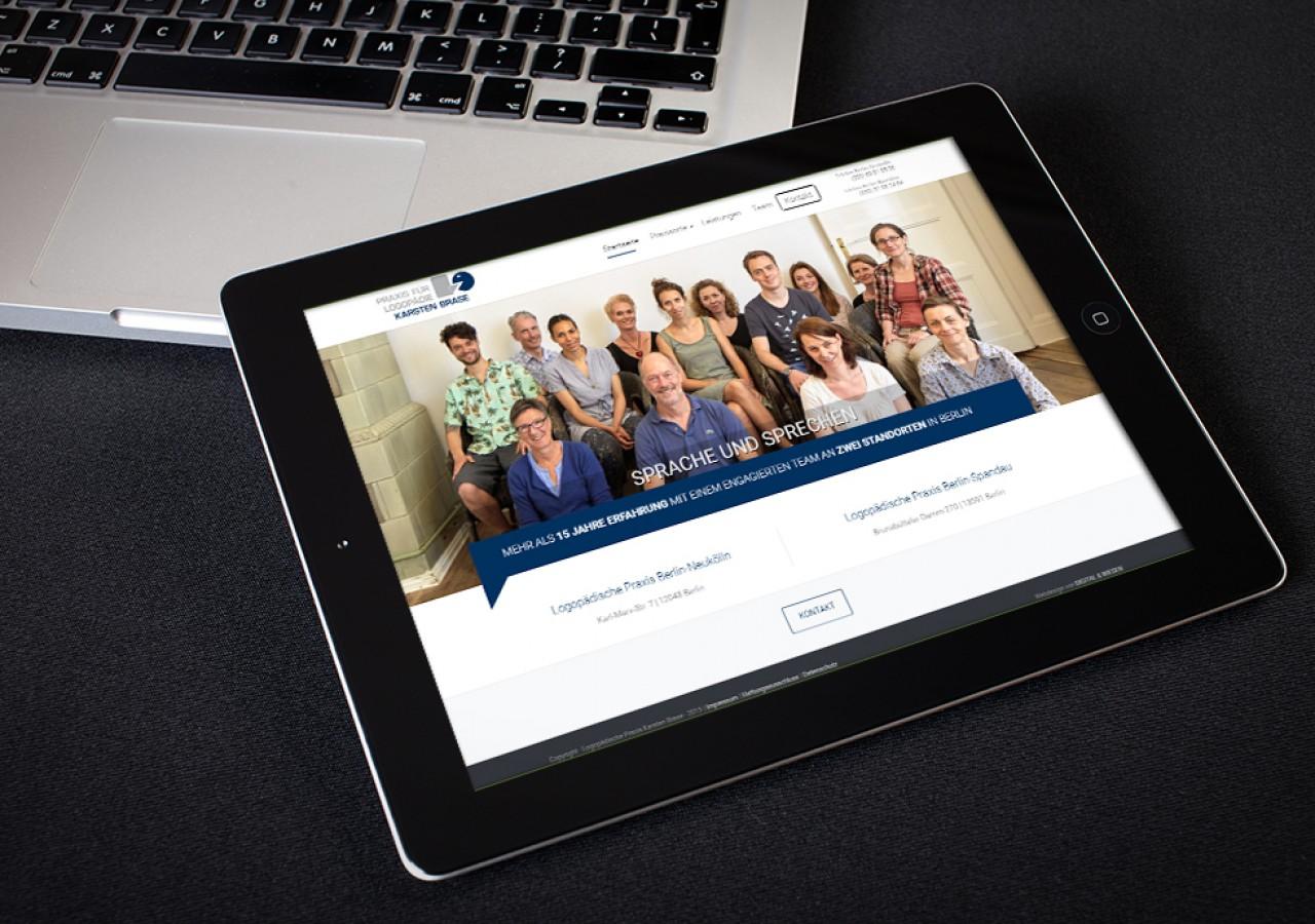Logopädie Website