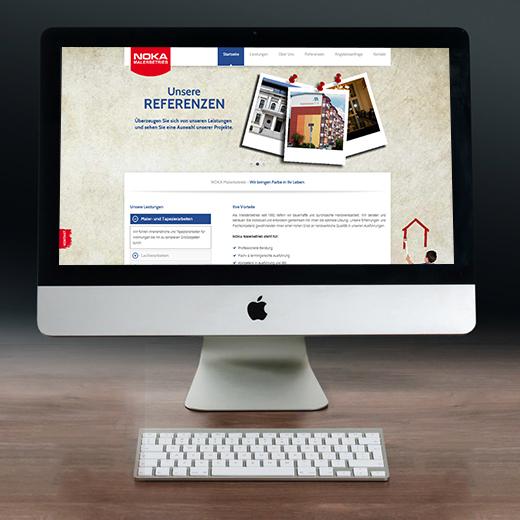 Webdesign – Noka Malerbetrieb