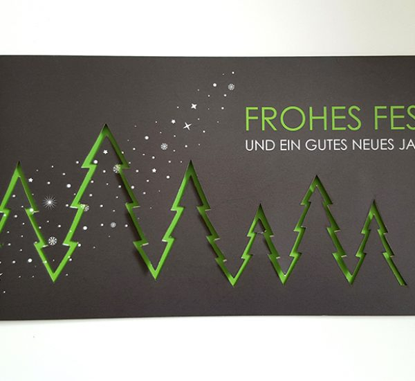 Weihnachtskarten Gestaltung – Michael Steinmetz