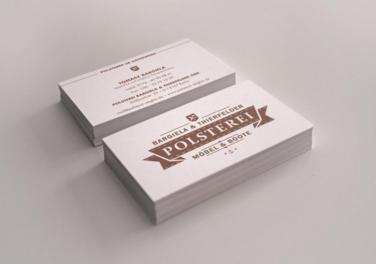 Designagentur Visitenkartengestaltung