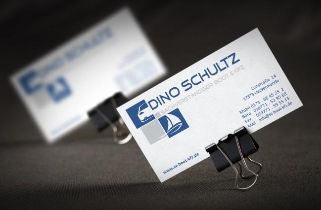 Visitenkarten – Dino Schultz