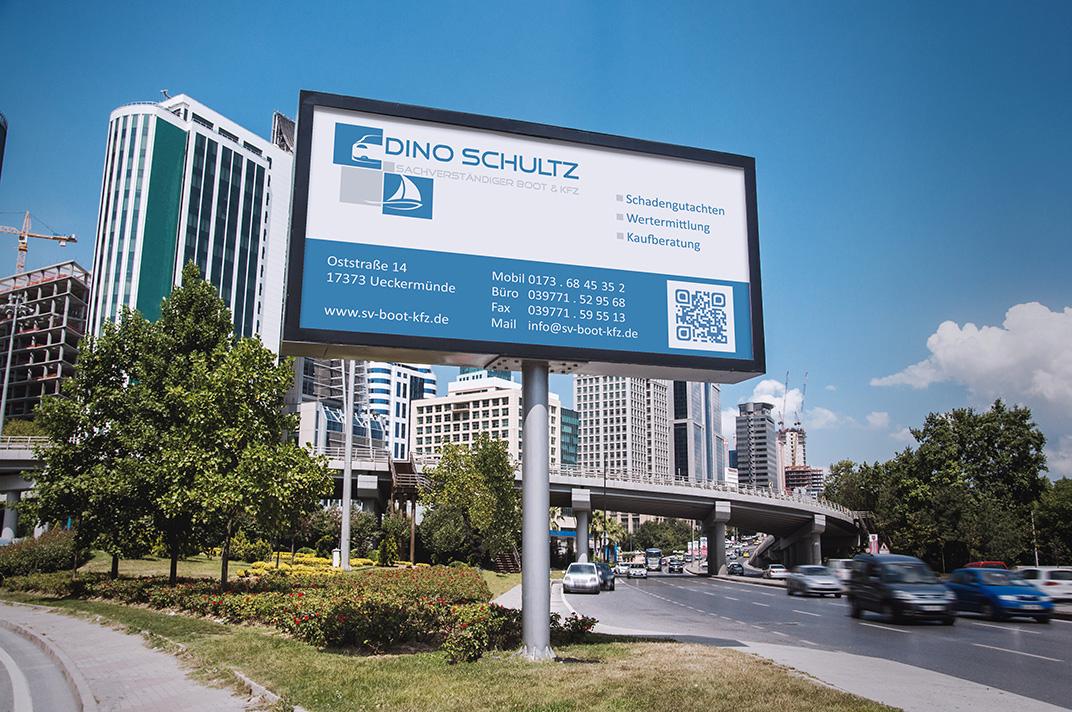 Werbeplakat – Dino Schultz