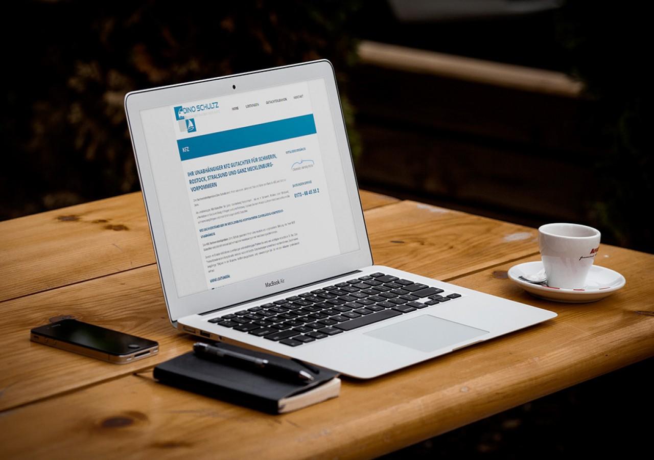Wordpress Website für KFZ Sachverständiger