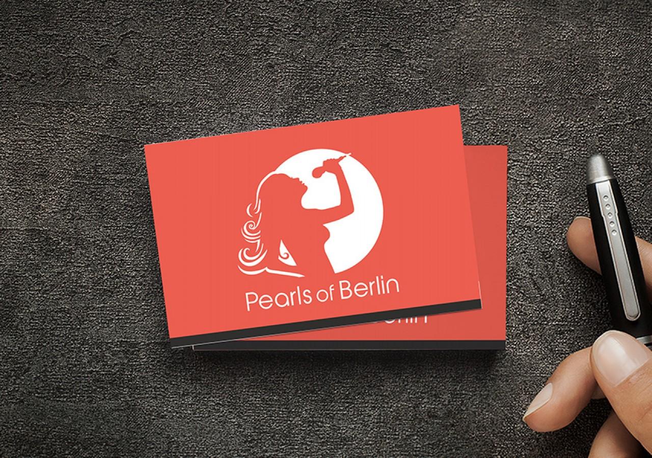 Visitenkarten Design für Frauenband