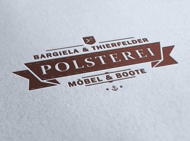 Logogestaltung – Polsterei