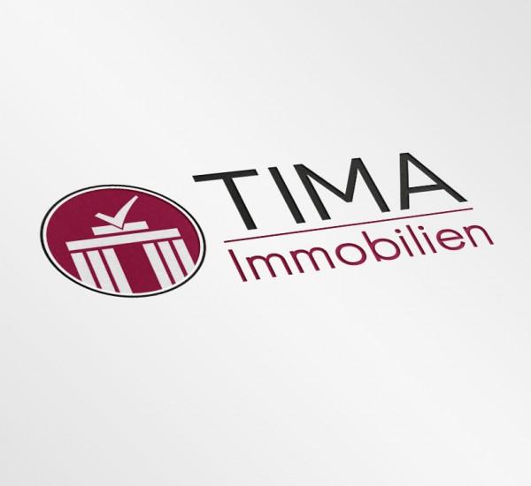 Logodesign – TIMA Immobilien