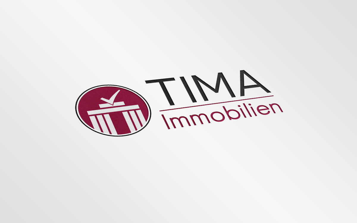 Logodesign – TIMA Immobilien