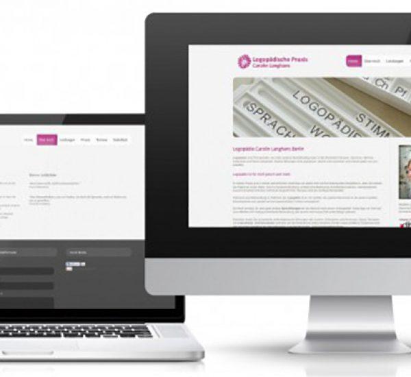 Website – Logopädie Langhans