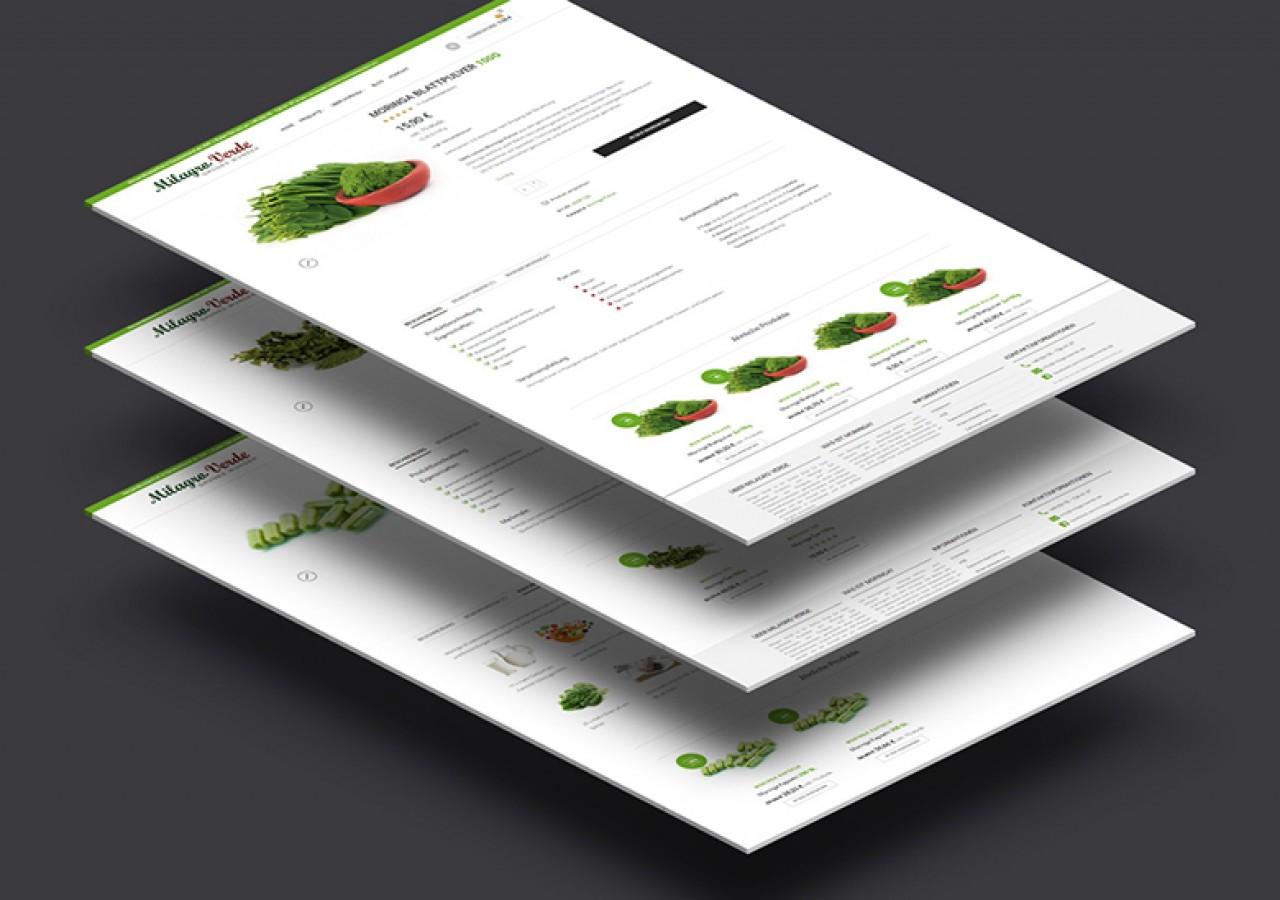 Webdesign für Online-Shop