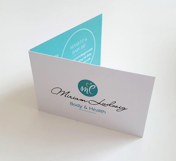 Visitenkarten-Design – Miriam Ludwig