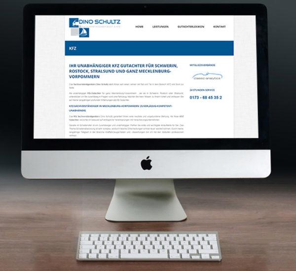 Website-Gestaltung – Dino Schultz