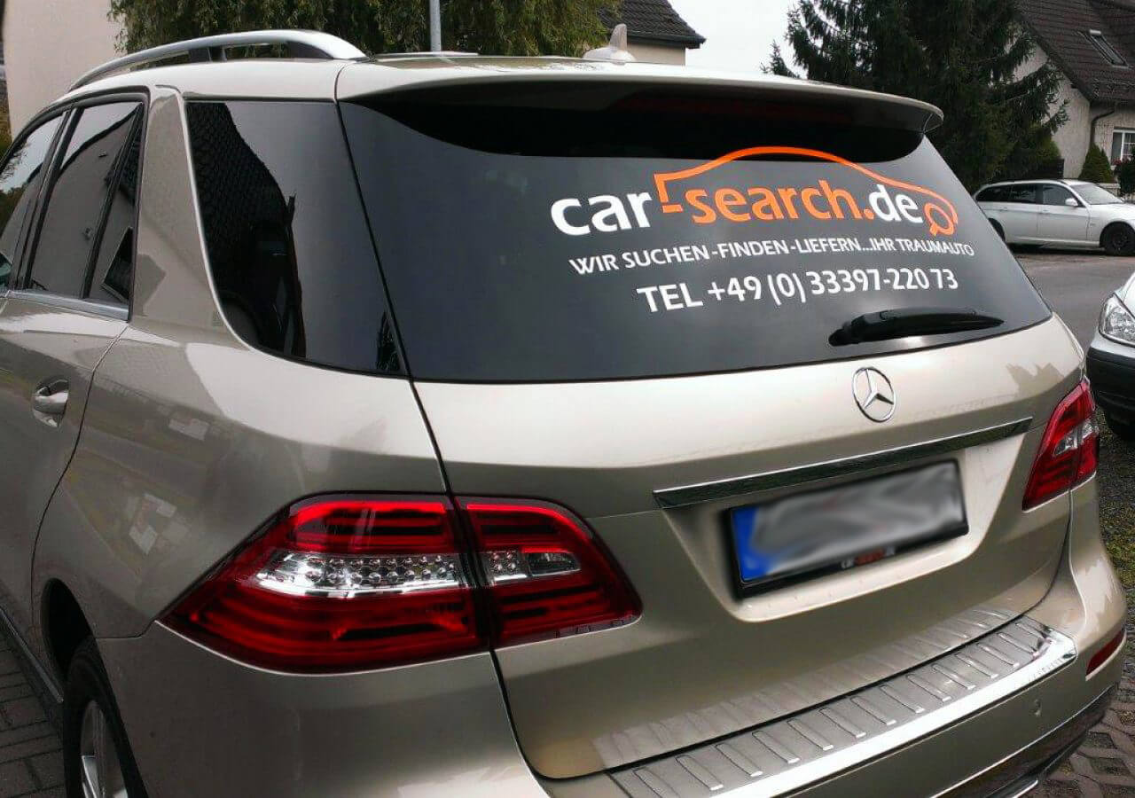 Autobeschriftung – Car Search