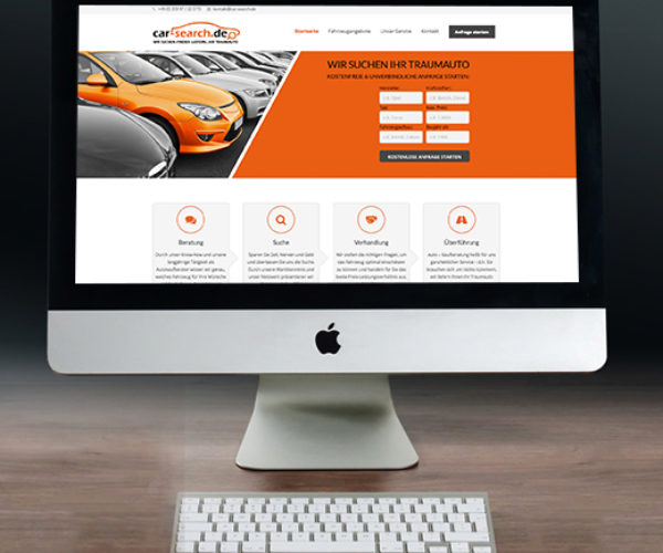 Webdesign – Car Search