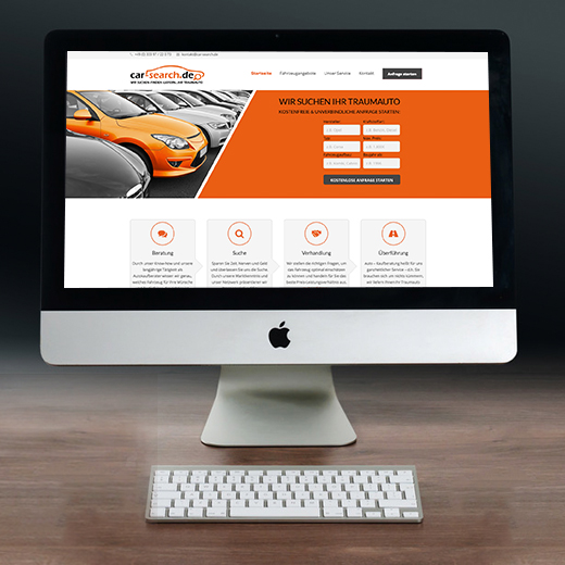 Webdesign – Car Search