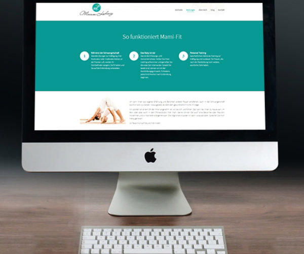 WordPress Website – Miriam Ludwig