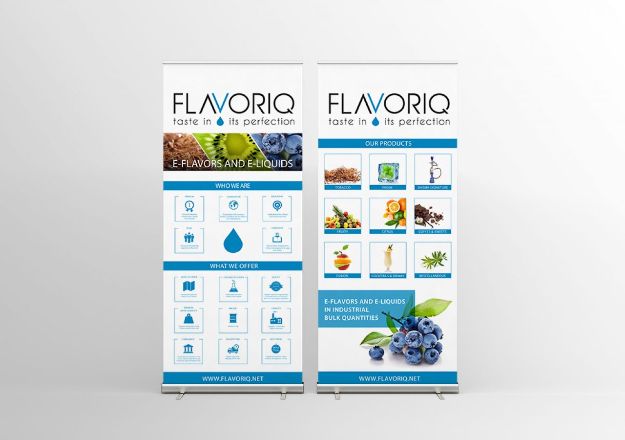 Roll-Up Banner Flavoriq