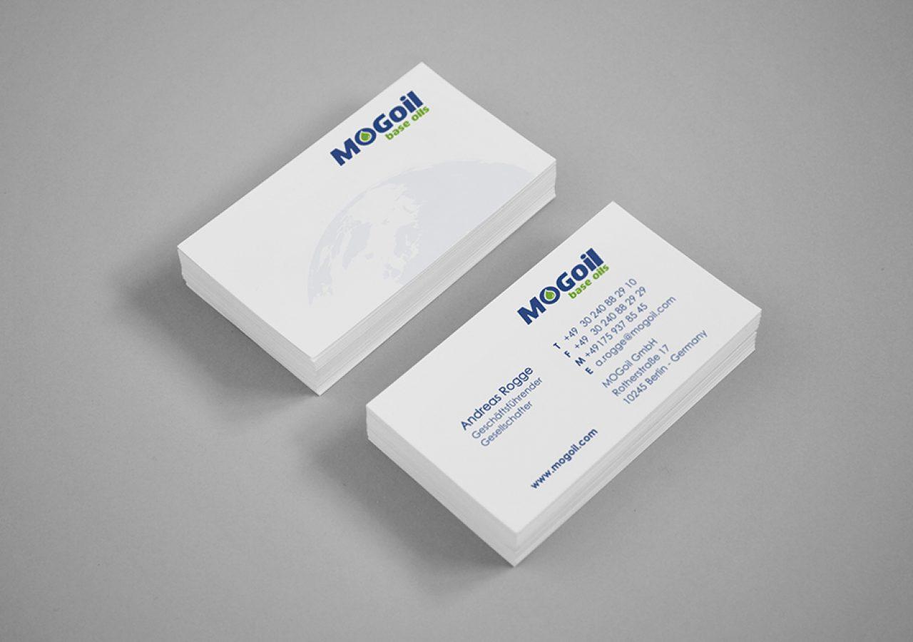 Visitenkarten Gestaltung MOGoil