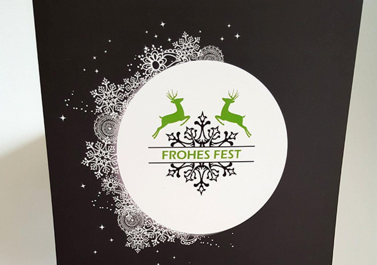Weihnachtskartengestaltung