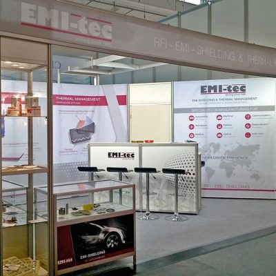 Messestand – EMI tec