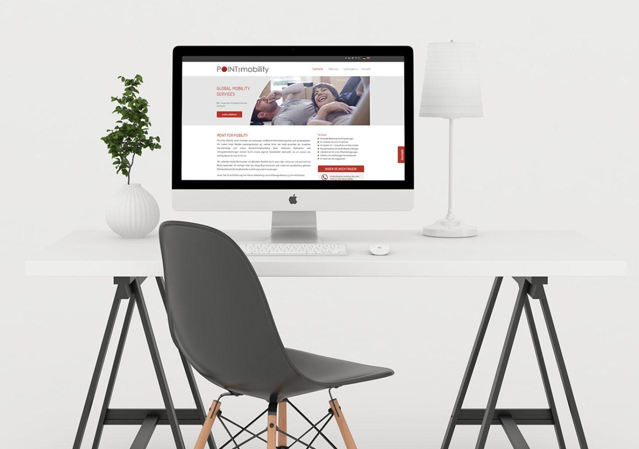 Wordpress Website für Global Mobility Service