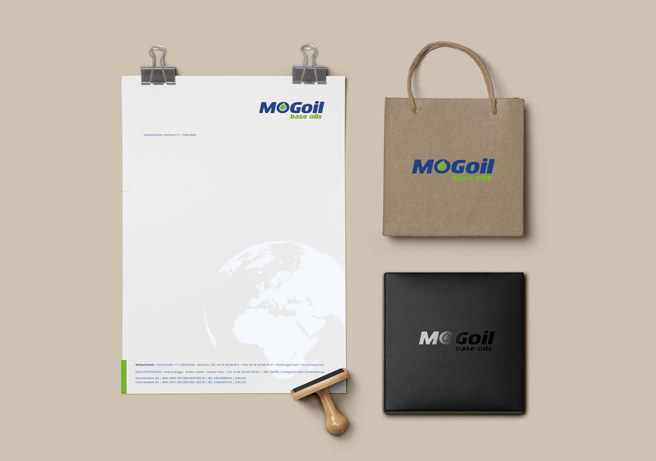 Briefbogen Gestaltung für MOGoil