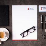 Briefpapier und Visitenkarten im Corporate Design