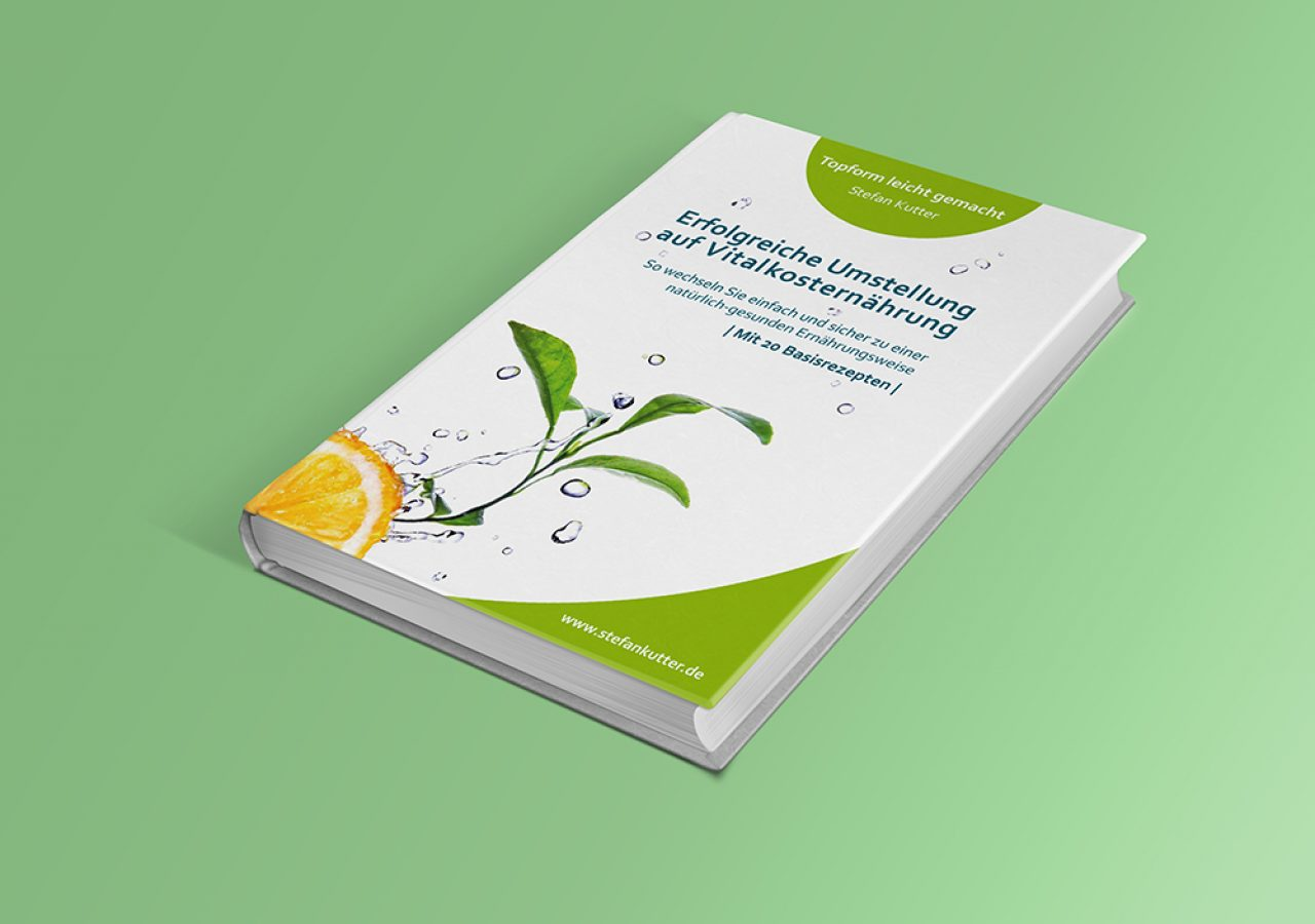 Buchcover Gestaltung für Ernährungsberater