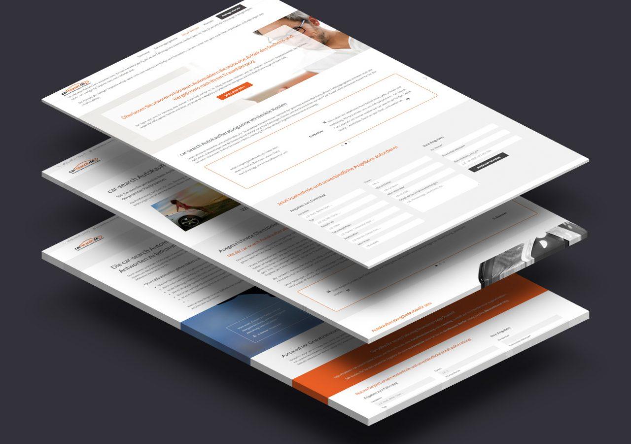Wordpress Webdesign für Autokaufberater