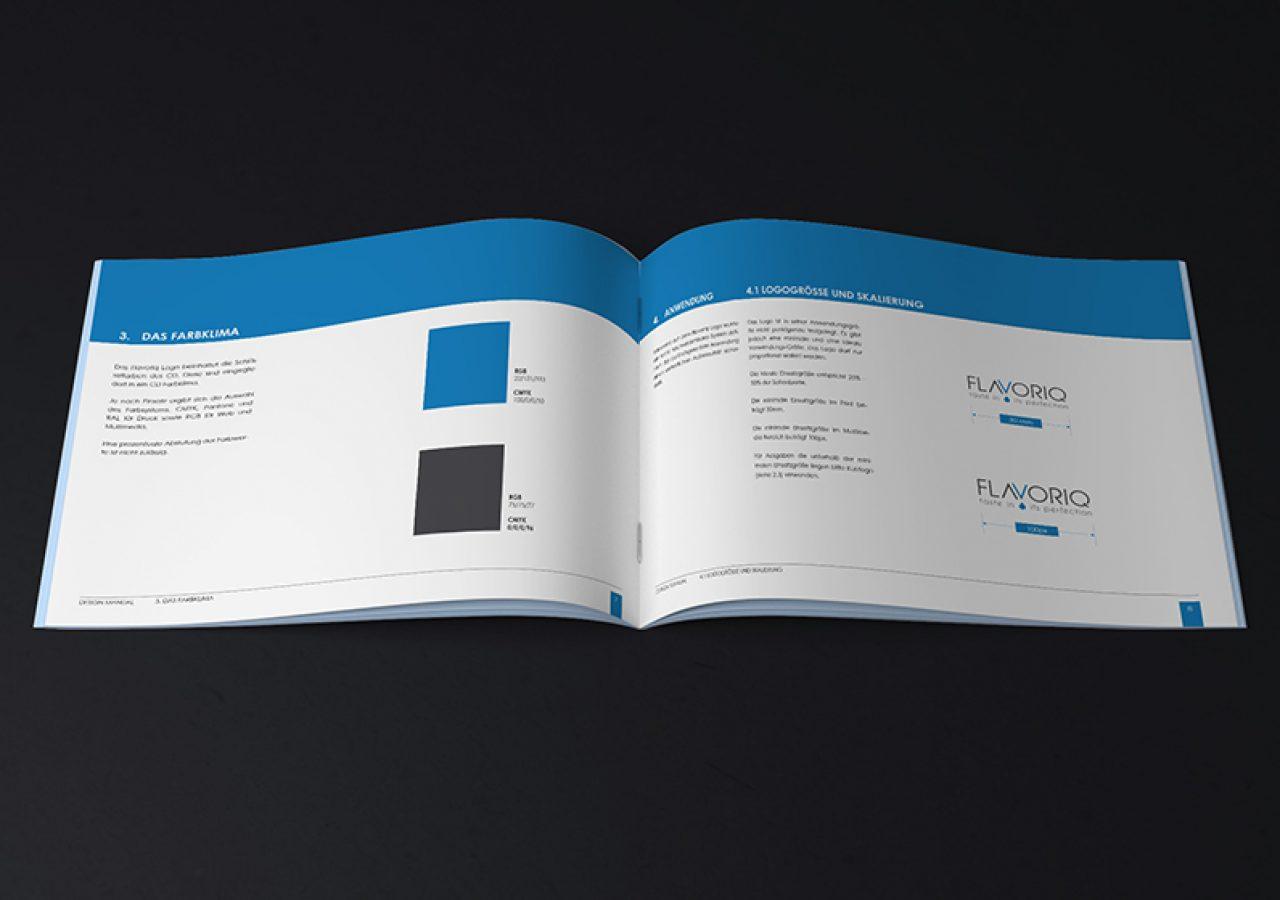 Designmanual für Logodesign