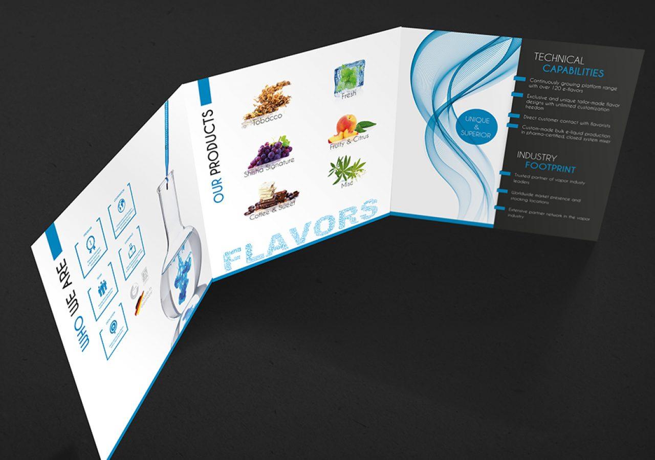 Flyerdesign für Flavoriq