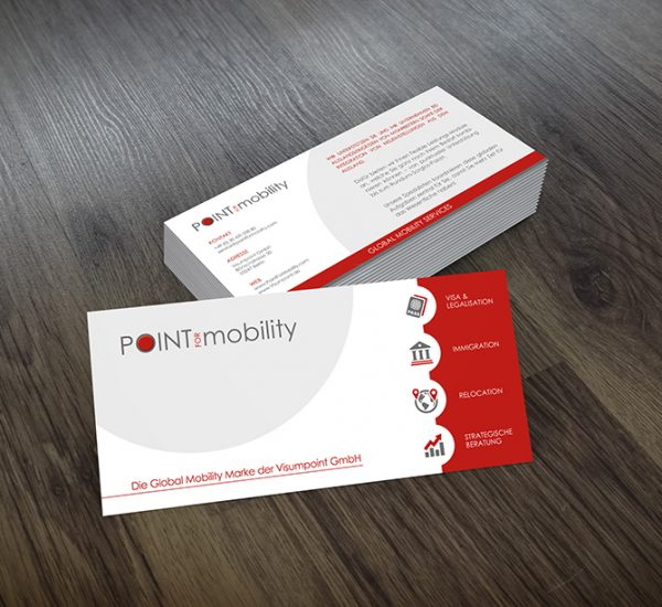 Flyer Design – Point for Mobility