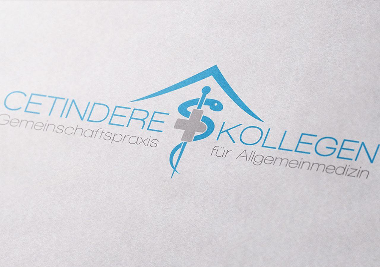 Logodesign für Arztpraxis