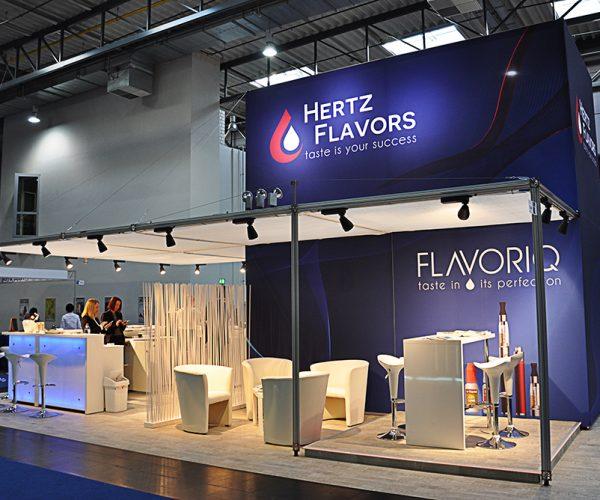 Messestand – Hertz Flavors