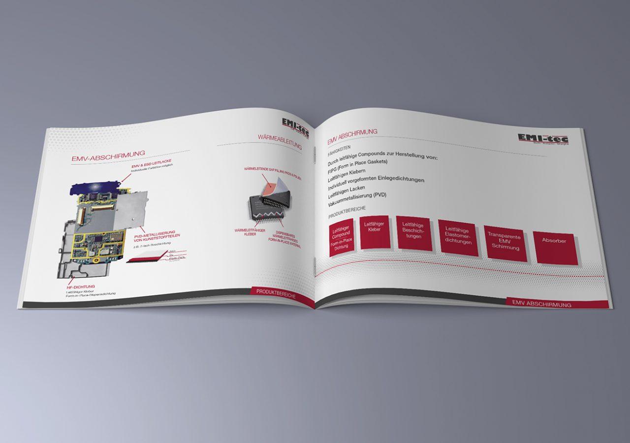Broschüre für Elektronikunternehmen