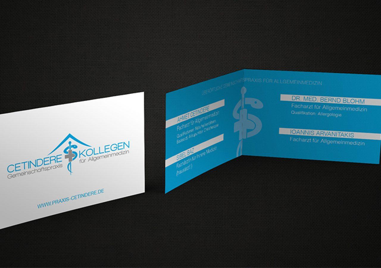 Aufklappbare Visitenkarten Designagentur Aus Berlin