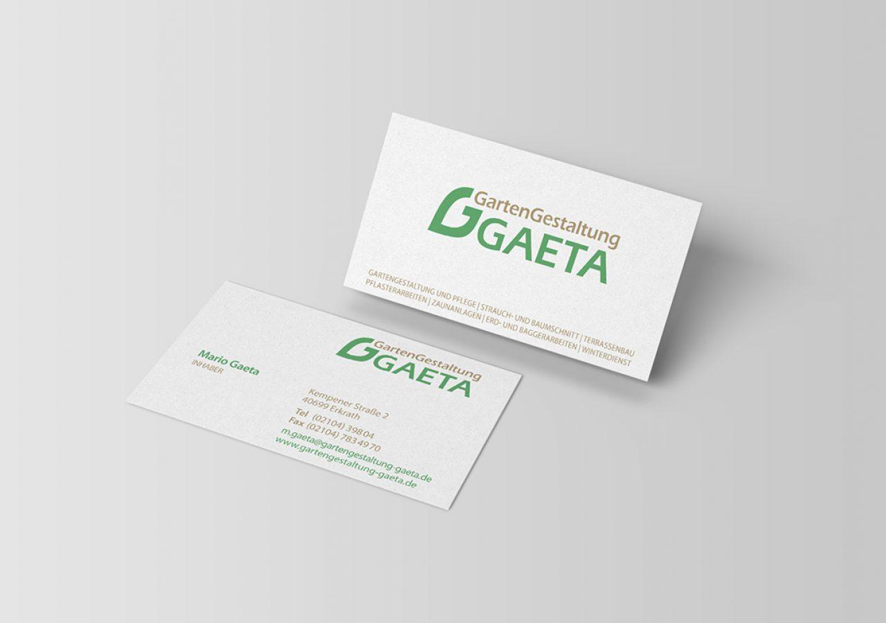 Visitenkarten Gestaltung für Gaeta