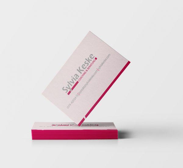 Visitenkarten Gestaltung – Sylvia Keske