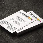 Visitenkarten Gestaltung für Thingks