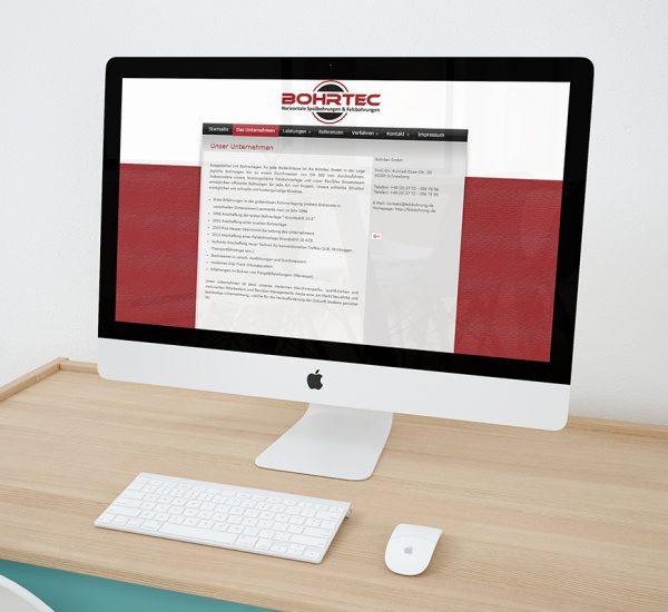 WordPress Website – Bohrtec