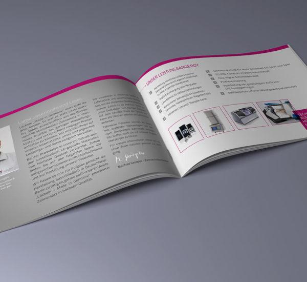 Broschüre – Dentallabor Georgiev