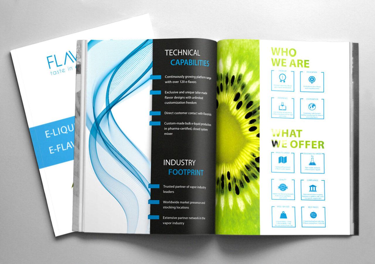 Design eines Produktkatalogs