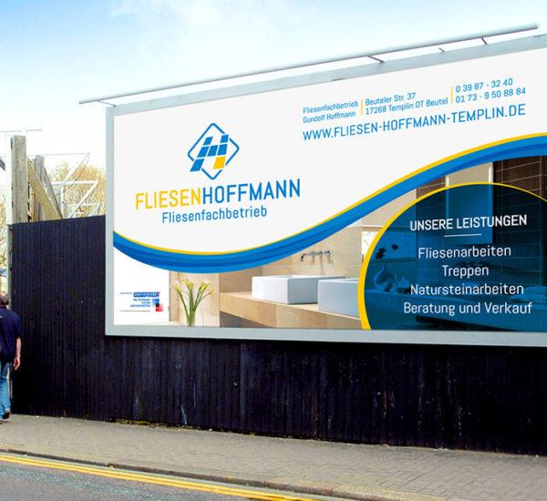 Plakatgestaltung – Fliesen Hoffmann