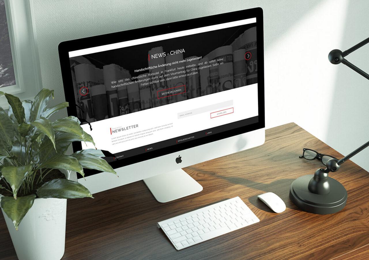 Websitedesign für Visumpoint