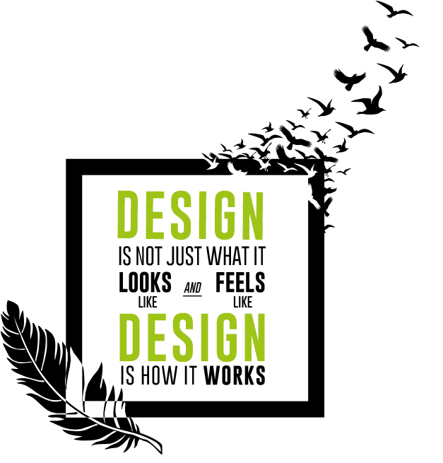 Design is not just what it looks and feels like. Design is how it works.