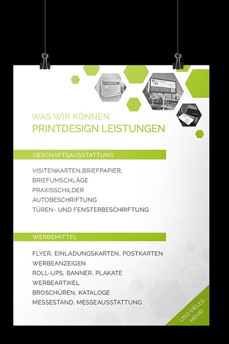 Leistungen unserer Designagentur