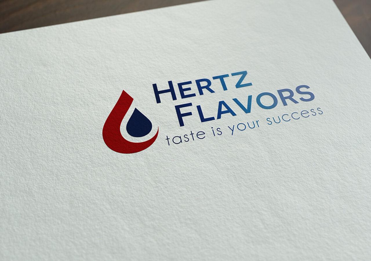 modernes Logodesign für Hertz Flavors