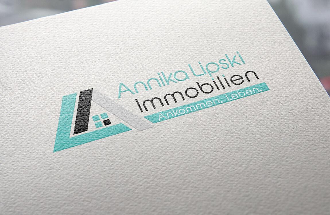 Logogestaltung – Annika Lipski Immobilien