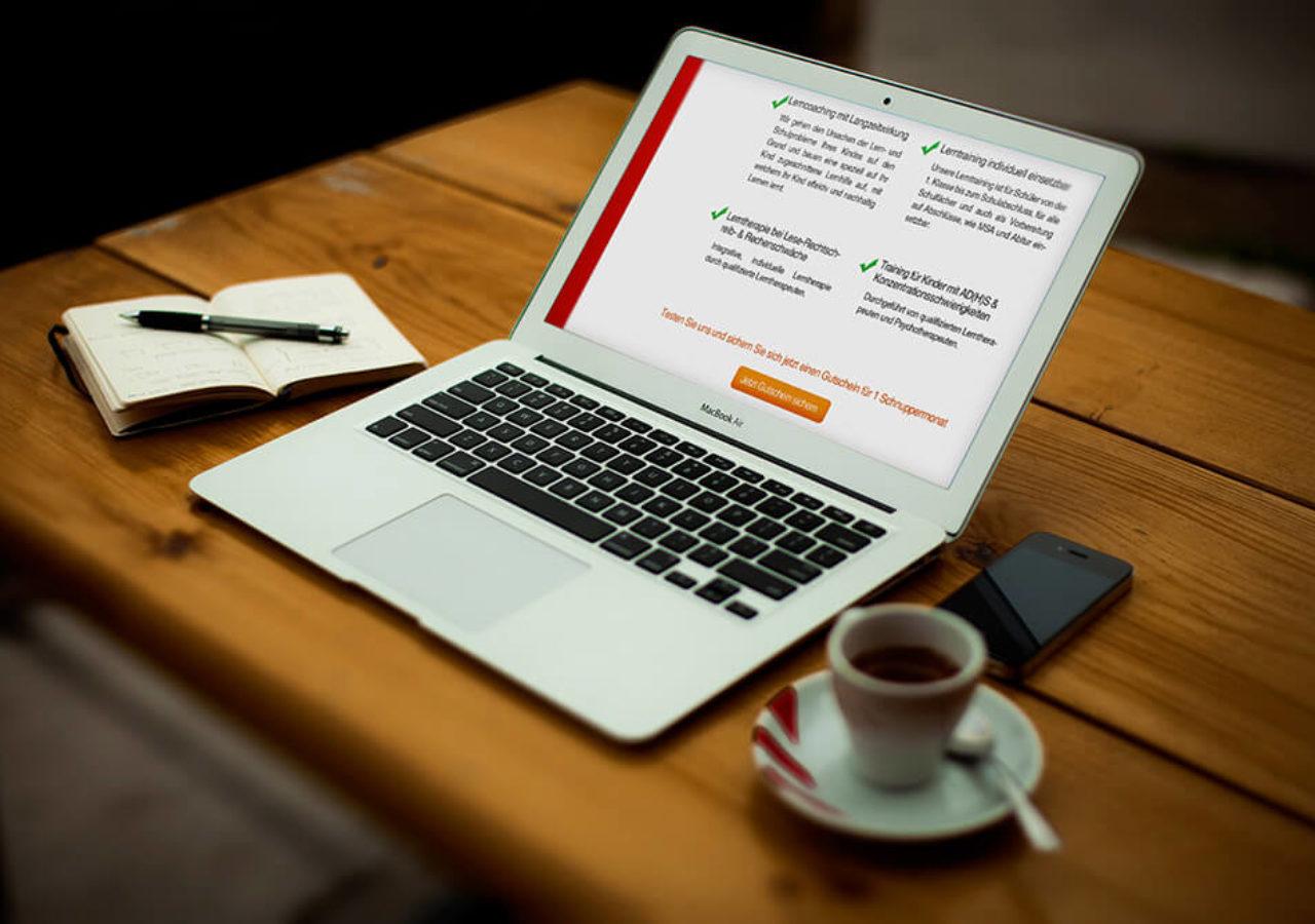 Design und Umsetzung einer Landingpage